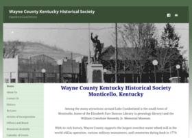 Waynecountykentuckyhistoricalsociety.org thumbnail