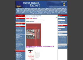 Waynemadsenreport.com thumbnail