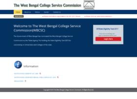 Wbcsc.ac.in thumbnail