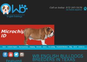 Wbenglishbulldogs.com thumbnail