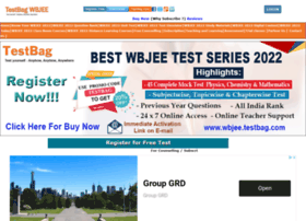 Wbjee.testbag.com thumbnail