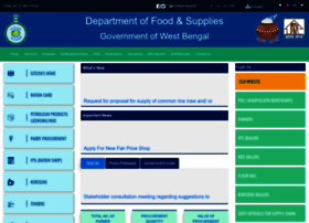 Wbpds.gov.in thumbnail