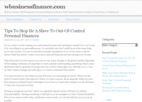 Wbusinessfinance.com thumbnail
