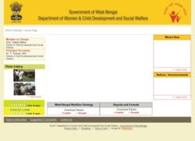 Wbwcdsw.gov.in thumbnail