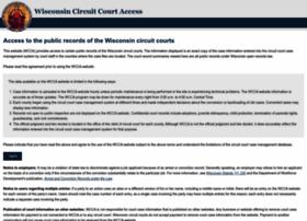 Wcca.wicourts.gov thumbnail