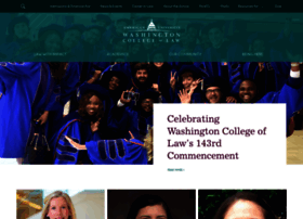 Wcl.american.edu thumbnail