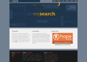 We-search.org thumbnail