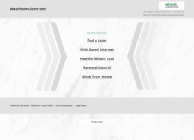 Wealthsimulator.info thumbnail