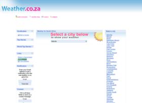 Weather.co.za thumbnail