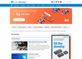 website software reviews