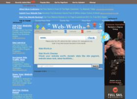 Web-worth.in thumbnail