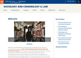 Web.crim.ufl.edu thumbnail