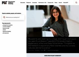 Web.mit.edu thumbnail