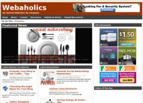 Webaholics.in thumbnail