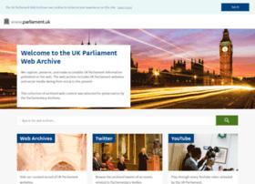 Webarchive.parliament.uk thumbnail