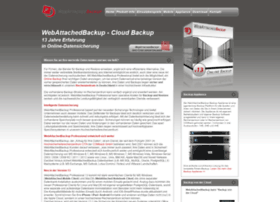 Webattachedbackup.de thumbnail