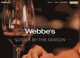 Webbesrestaurants.co.uk thumbnail