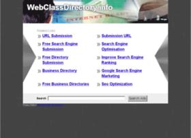 Webclassdirectory.info thumbnail