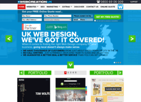 Webcreationuk.co.uk thumbnail