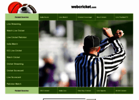 Webcricket.com thumbnail