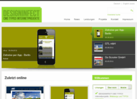 Webdesign-designinfect.de thumbnail