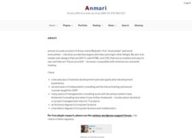 Webdesign.anmari.com thumbnail