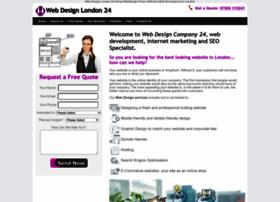 Webdesigncompany24.co.uk thumbnail