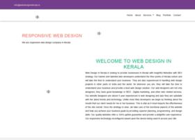 Webdesigninkerala.in thumbnail