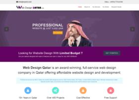 Webdesignqatar.qa thumbnail