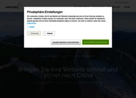 Webercloud-china.de thumbnail