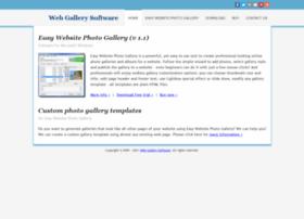 Webgallerysoftware.com thumbnail