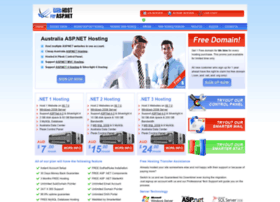 Webhostforasp.net.au thumbnail
