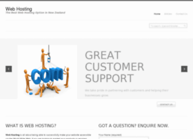 Webhosting.gen.nz thumbnail