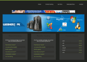 Webhostpk.net thumbnail