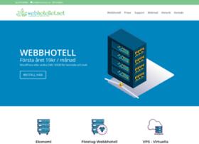 Webhotellet.net thumbnail