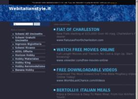 Webitalianstyle.it thumbnail