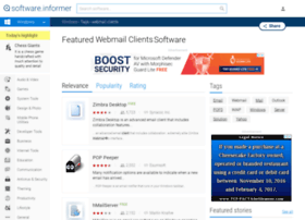 Webmail-clients.software.informer.com thumbnail