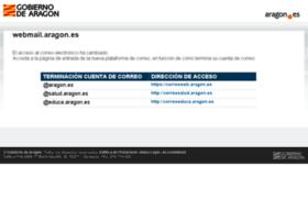 Webmail.aragon.es thumbnail