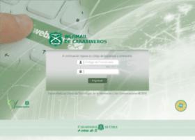 Webmail.carabineros.cl thumbnail