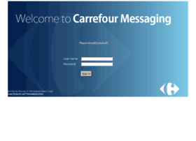 Webmail.carrefour.com thumbnail