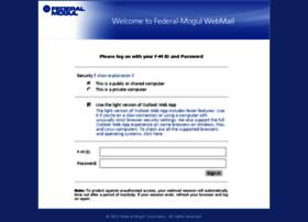 Webmail.federalmogul.com thumbnail