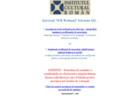 Webmail.icr.ro thumbnail