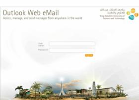 Webmail.kaust.edu.sa thumbnail