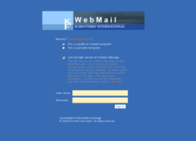 webmail.kornferry.com at WI. Outlook Web App