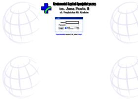 Webmail.szpitaljp2.krakow.pl thumbnail