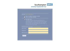 Webmail.uhs.nhs.uk thumbnail