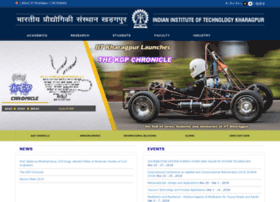 Webmath.iitkgp.ernet.in thumbnail