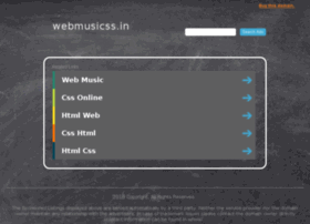 Webmusicss.in thumbnail