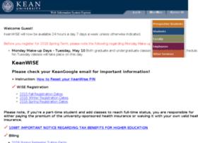 Webreg.kean.edu thumbnail