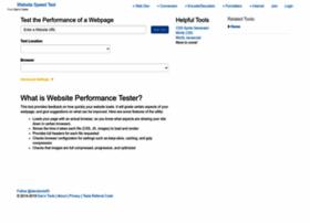 Website-performance.org thumbnail